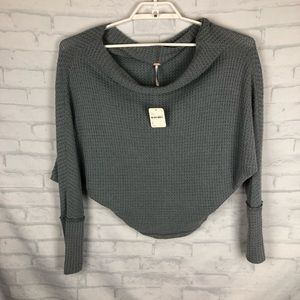 Free People Long Sleeve Loose Thermal Size Small